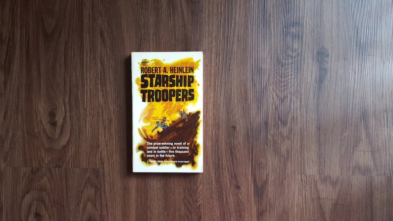 Starship Troopers by Robert A. Heinlein free shipping image 0