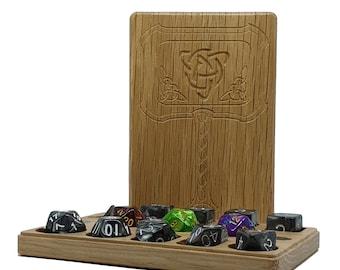 Mjolnir Dice Box - 7poly + 3d6 + 3d20