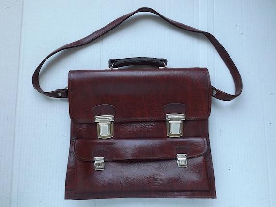 Vintage Leather Bag ,  Leather Shoulder Bag , Leat