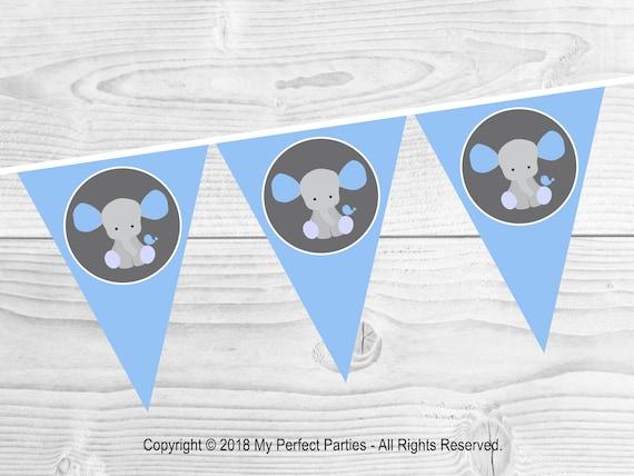 Watercolour Animal Panda Personalised Children/'s Bunting Party Banner