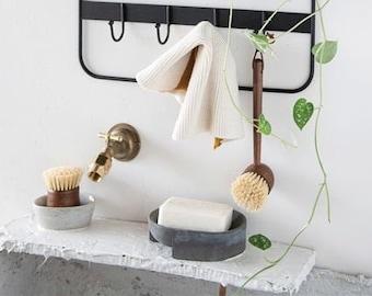 Cement Soap Dish | Concrete Soap Dish | Cement Dish | Bathroom Soap Dish | Modern Accessories