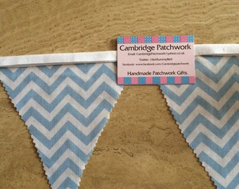 Just 99p per flag!!! Personalised Name Yellow Mix Fabric Bunting
