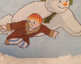 Walking In The Air - The Snowman Cross Stitch Pattern