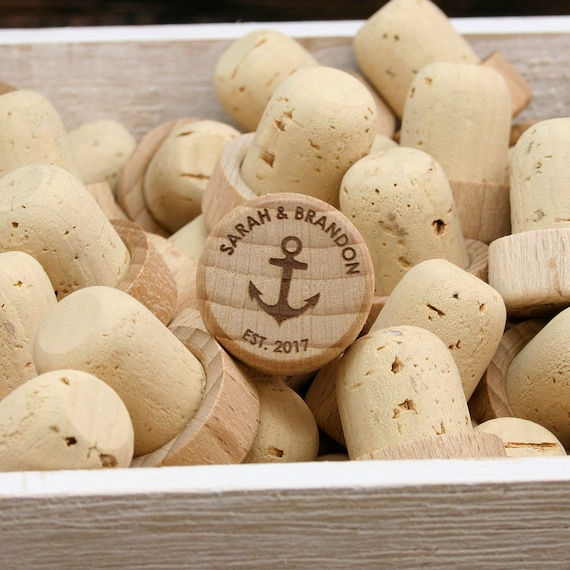 Wine Wedding Favors | Personalized Wine Stoppers