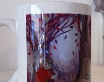 "Mug ""Hooky"" derived from my canvas"