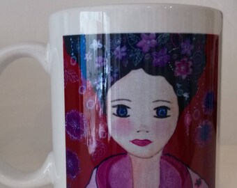 "Mug ""Svetlana"" derived from my canvas"
