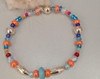 Bracelet fancy beads, boho