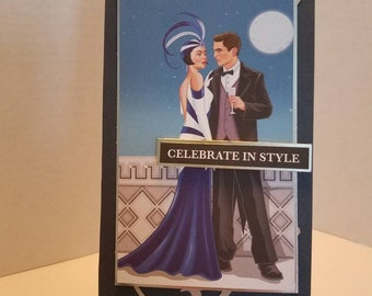 Celebrate in Style.  Birthday Card