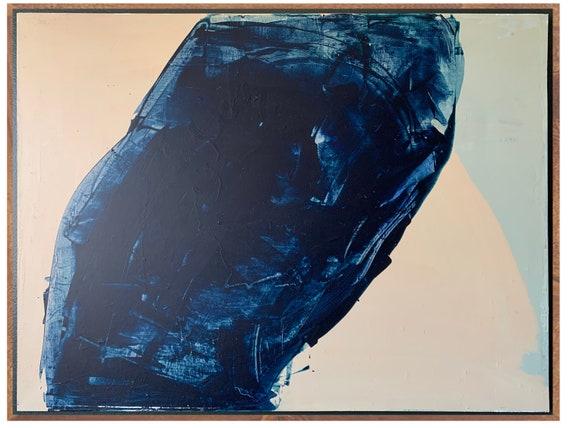 BLUE II - acrylic on canvas
