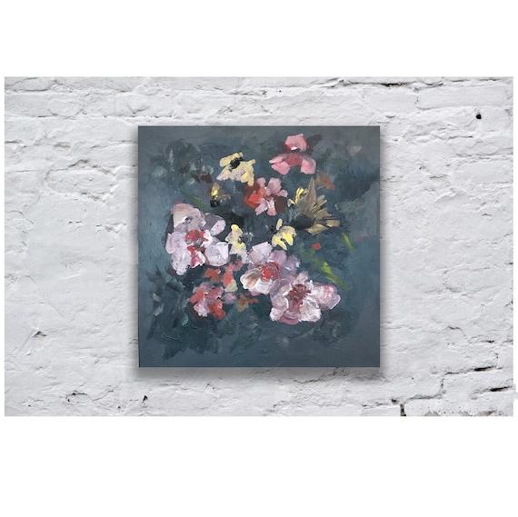 AUTUMN I, II -  original acrylic paintings