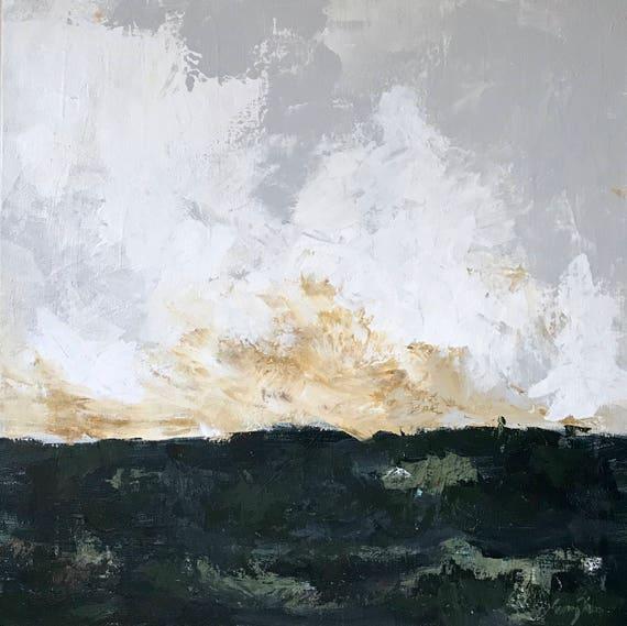 HOMELAND -  original acrylic painting