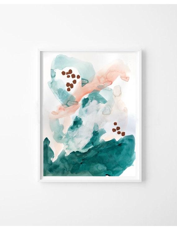 CAPRI I, II -  original acrylic paintings