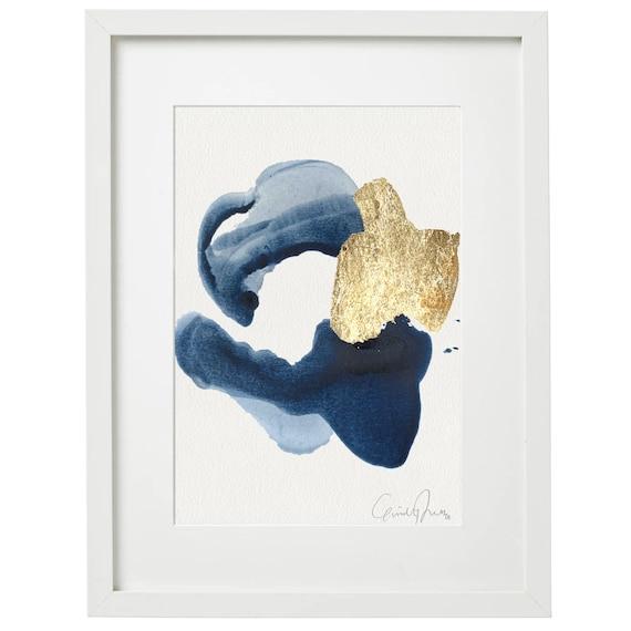 INDIGO - original acrylic painting
