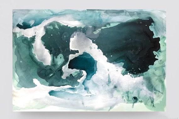 SKYFALL -  original acrylic painting