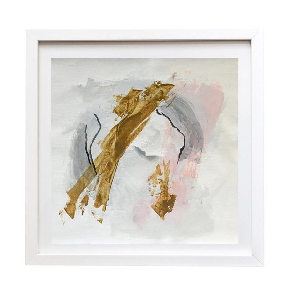 OYSTER I, II -  original acrylic paintings