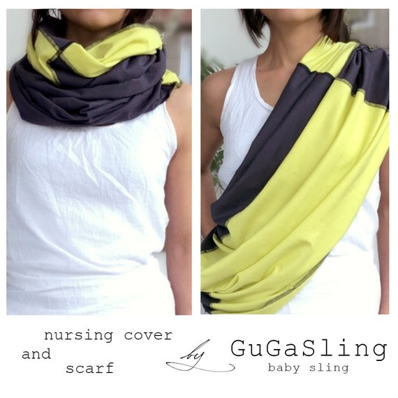 New Comfort Baby Mum Nursing Cover Up Breastfeeding Covers Cotton Infinity Scarf