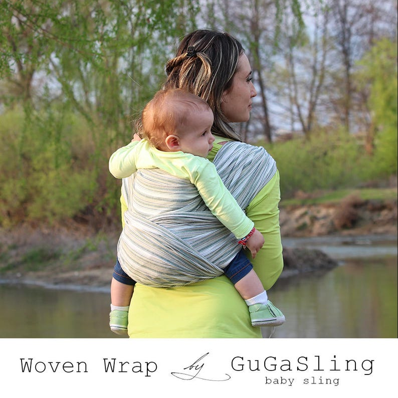 ff16a7489ac GuGaSling Woven Wrap Herb Heaven Baby carrier Woven wrap