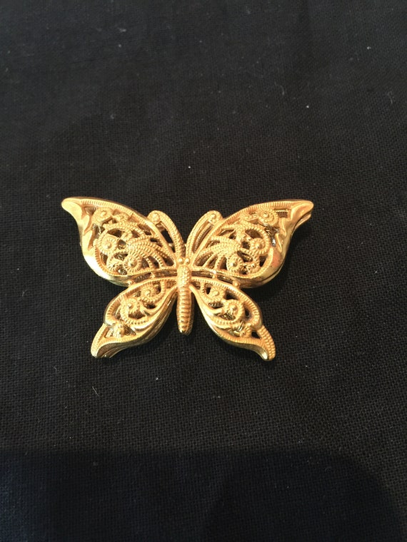 Vintage Miriam Haskell Butterfly Brooch/Pendant
