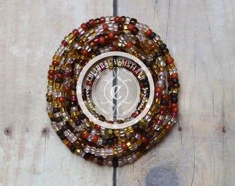 Waist Beads 204 | Body Jewelry Waist | Belly Chain | African Waist Beads | Body Jewelry | Beaded Belly Chain | Waist Chain | Waist Beads Set