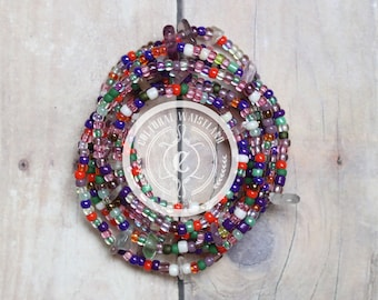 Waist Beads 195 | Body Jewelry Waist | Belly Chain | African Waist Beads | Body Jewelry | Beaded Belly Chain | Waist Chain | Waist Beads Set
