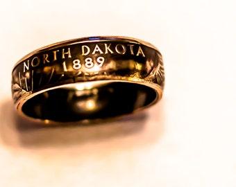 US State Quarter Coin Ring, State Quarter Ring, Coin Ring, State Quarter Coin Ring, US State Quarter Ring, Coin Ring, Coin Ring, Coin Ring