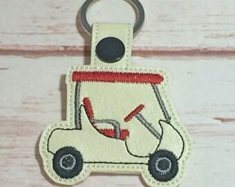 Golf cart key fob | Etsy Rainbow Golf Cart Embroidery on rainbow tree, rainbow company, rainbow crane, rainbow golf,