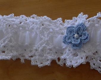 Jarretière ou bandeau/Garter or headband