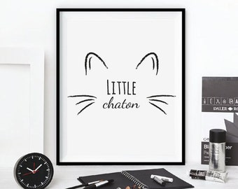 "Table ""little kitten"""