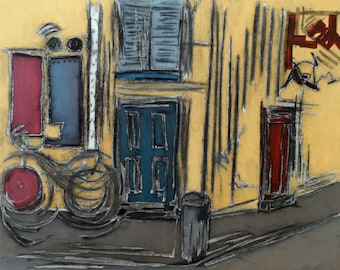 Copenhagen Giclee Art Print