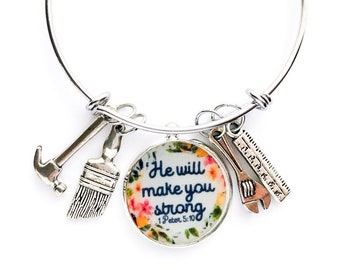 LDC Bracelet He will make you strong