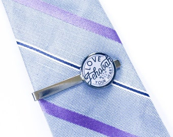 Love Jehovah With Your Whole Heart Tie Clip