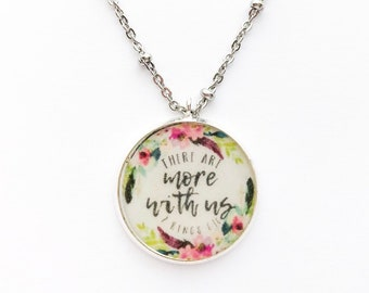 There Are More With Us 2 Kings 6:16 Necklace | jw gifts | jw pioneer gifts