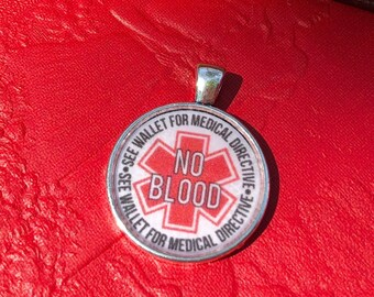 No Blood Pendant | JW Gifts | Pioneer Gifts | JW Jewelry