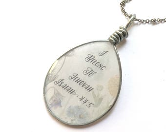 I belong to Jehovah necklace | jw gifts | jw pioneer gifts | jw.org baptism gift | Jw Jewelry