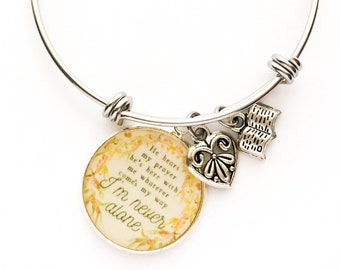 Im Never Alone Bracelet | JW Gifts | Pioneer Gifts | JW Jewelry | Jw.org