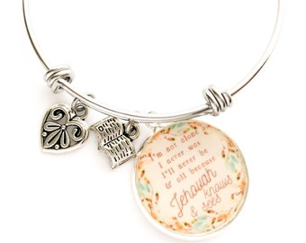 Jehovah Knows and Sees Im Never Alone Bracelet | JW Gifts | Pioneer Gifts | JW Jewelry | Jw.org