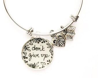 Don't Give Up Bracelet