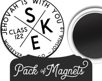 Custom SKE School for Kingdom Evangelizers Magnet Gift | Jw
