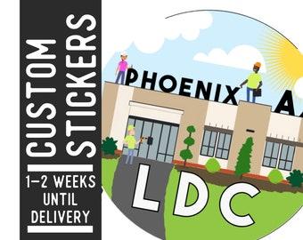 Custom LDC Sticker - JW Jw.org