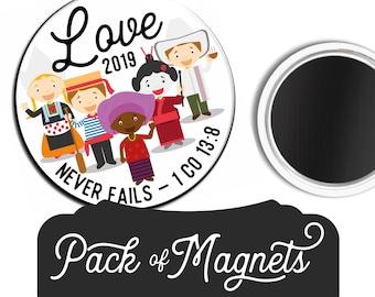 Love Never Fails Magnet Gift | JW JW.ORG