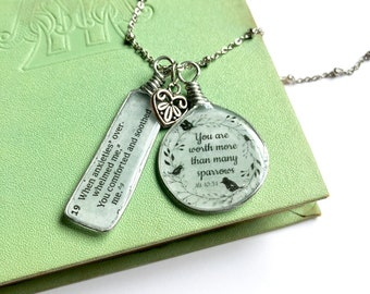 Jehovah Loves You Necklace JW Gift Jewelry - JW Regular Pioneer Gifts JW.org