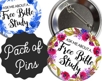 Free Bible Study Pins - JW Regular Pioneer Gifts JW.org