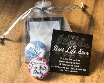 Pioneer Gift Bags - Gifts JW JW.org Free Bible Study