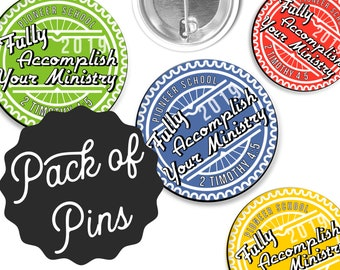 Fully Accomplish Your Ministry Pioneer School Gifts Graduate Pin Gift | JW JW.ORG