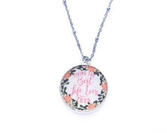 Personalized Best Life Ever Necklace | jw gifts | jw pioneer gifts