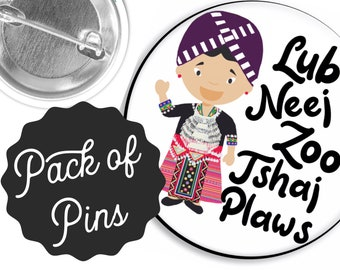 Hmong Best Life Ever  Pins  - JW Gifts JW.org