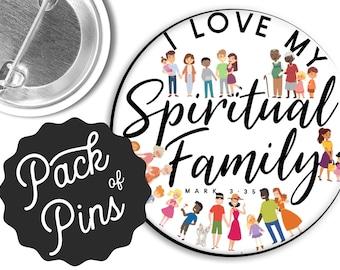 I Love My Spiritual Family  - JW Gifts JW.org