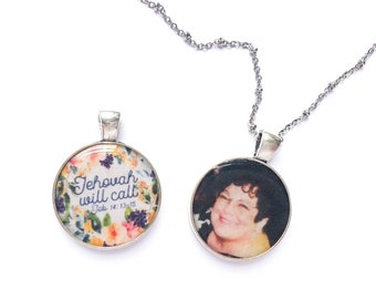 Personalized Double Sided Jehovah Will Call Necklace - JW Gifts JW.org
