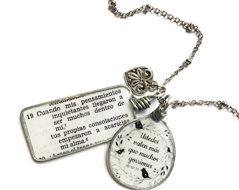 Spanish Jehovah Loves You Necklace JW Gift Jewelry - JW Regular Pioneer Gifts JW.org