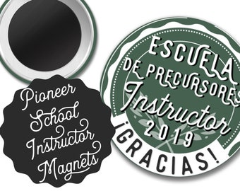 Spanish Individual Pioneer School Instructor Gift Magnet  | JW JW.ORG